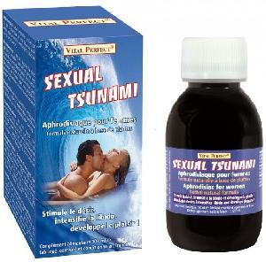 Stimulant pour femme Vital Perfect - Stimulant Sexual Tsunami - 100 ml