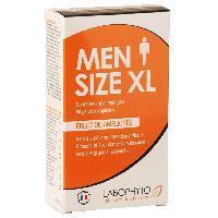 Stimulant pour homme Labophyto - MenSize XL Erection Amelioree - 60 gelules