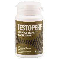 Stimulant pour homme Labophyto - TestoPerf Puissance Sexuelle - 20 capsules