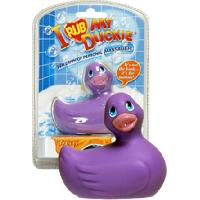 Stimulateurs Big Teaze Toys - Petit Canard Vibrant - Mauve - Version mini 8cm - format voyage