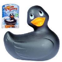 Stimulateurs Big Teaze Toys - Petit Canard Vibrant - Noir - Version mini 8cm - format voyage
