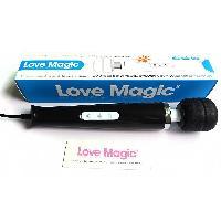 Stimulateurs externes IWand - Vibromasseur Love Magic noir