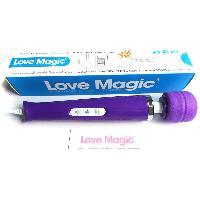 Stimulateurs externes IWand - Vibromasseur Love Magic pourpre