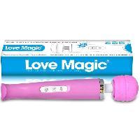 Stimulateurs externes IWand - Vibromasseur Love Magic rose