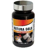 Stimulation sexuelle Homme Nutri Expert - Natura Gold - Optimiseur de spermatogenese - 60 gelules