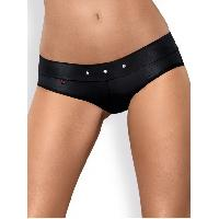 Strings et Culottes Obsessive - Shorty noir Gretia - L-XL