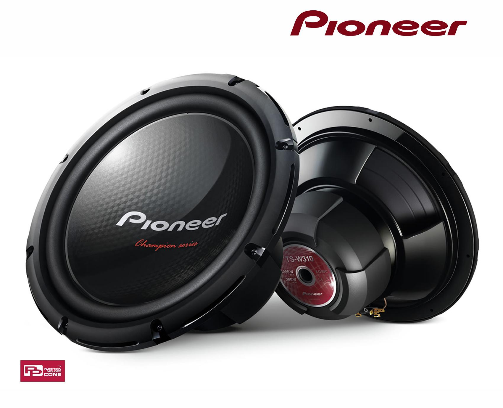 subs 30cm pioneer ts 300s4 subwoofer. Black Bedroom Furniture Sets. Home Design Ideas