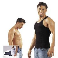 T-Shirts Sexy LRDP - Debardeur homme ventre plat Noir - Taille M