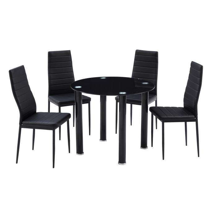 Table a manger avec chaises maison design for Table a manger chaises