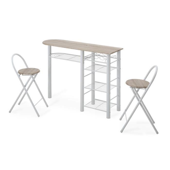 table de bar avec chaise