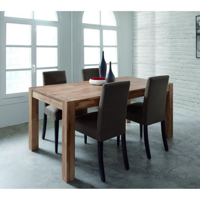 aucune miles table de s jour en chene massif huil 150cm 267509. Black Bedroom Furniture Sets. Home Design Ideas