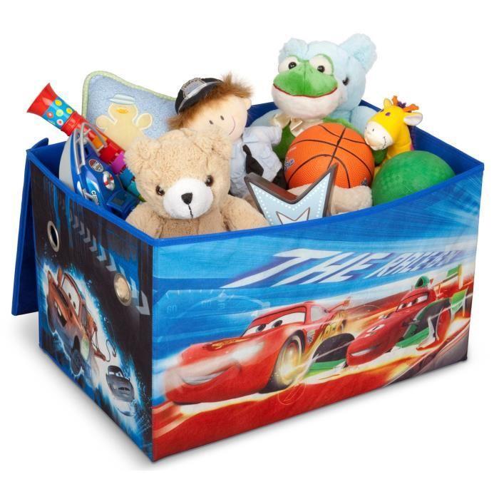 Delta children cars coffre a jouets non tisse 255922 - Grand coffre a jouet cars ...