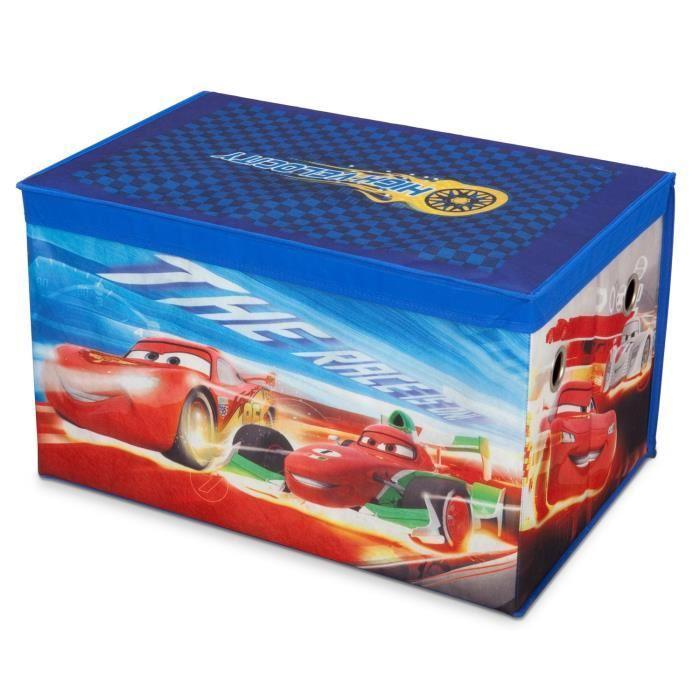 Delta children cars coffre a jouets non tisse 255922 - Coffre a jouet cars ...