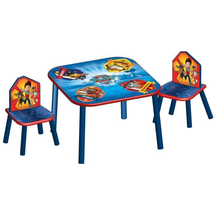 delta children pat patrouille table enfant et 2 chaises. Black Bedroom Furniture Sets. Home Design Ideas