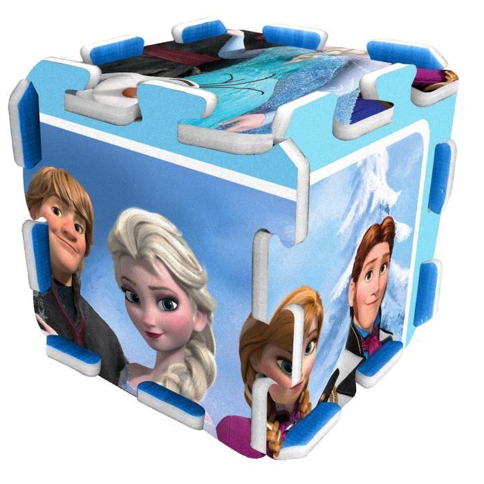 stamp la reine des neiges tapis puzzle mousse 9pcs avec. Black Bedroom Furniture Sets. Home Design Ideas