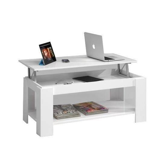 table basse avec tablette relevable table basse avec tablette relevable noire novy consoles. Black Bedroom Furniture Sets. Home Design Ideas