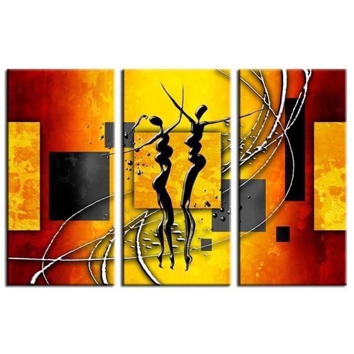 Aucune etnica tableau multi panneaux 90x60 cm 267540 - Tableau multi panneaux ...