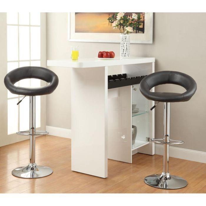 aucune diabolo lot de 2 tabourets de bar 256449. Black Bedroom Furniture Sets. Home Design Ideas