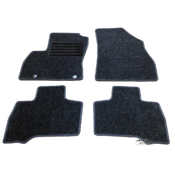 Tapis de sol textile Fiat Fiorino III/Qubo [Voiture : Fiat > Fiorino (ap07)]