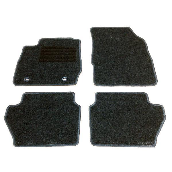 Tapis de sol textile Ford Fiesta 08-17 [Voiture : Ford > Fiesta > Fiesta 6 (08-17)]