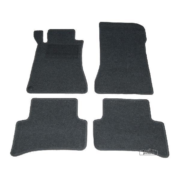 Tapis de sol textile Mercedes Classe C -W203- [Voiture : Mercedes > Classe C > W203 (00-07)]