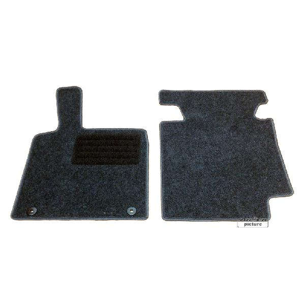 Tapis de sol textile Smart Fortwo -C 451- [Voiture : Smart > ForTwo > ForTwo II (07-14)]