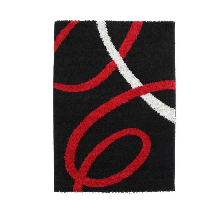 Finlandek salon finlandek tapis shaggy lohja 80x150 cm for Miroir 80x150