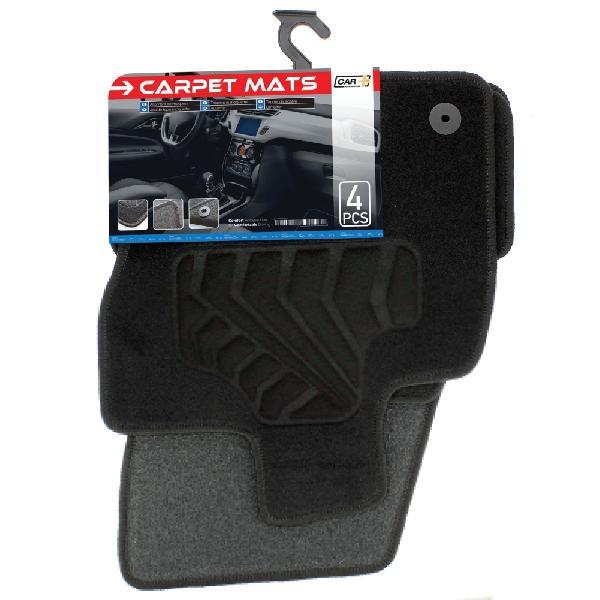 Tapis moquette Seat Ateca ap16 sur mesure 4 pieces