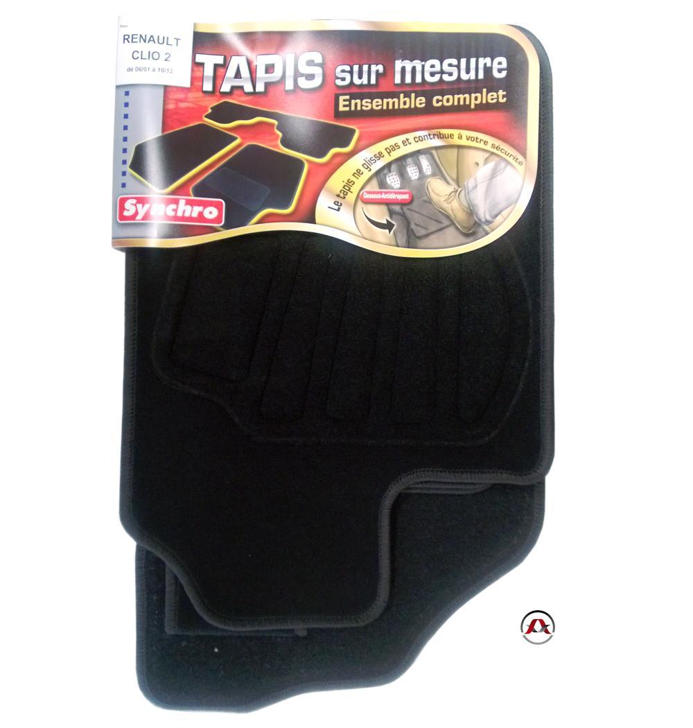 Tapis Specifiques ADNAuto - Tapis Renault Clio 2 01-12 - Sur mesure