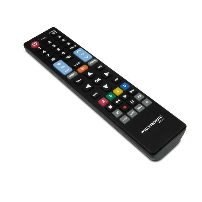 metronic telecommande de remplacement pour television samsung 495340 399702. Black Bedroom Furniture Sets. Home Design Ideas