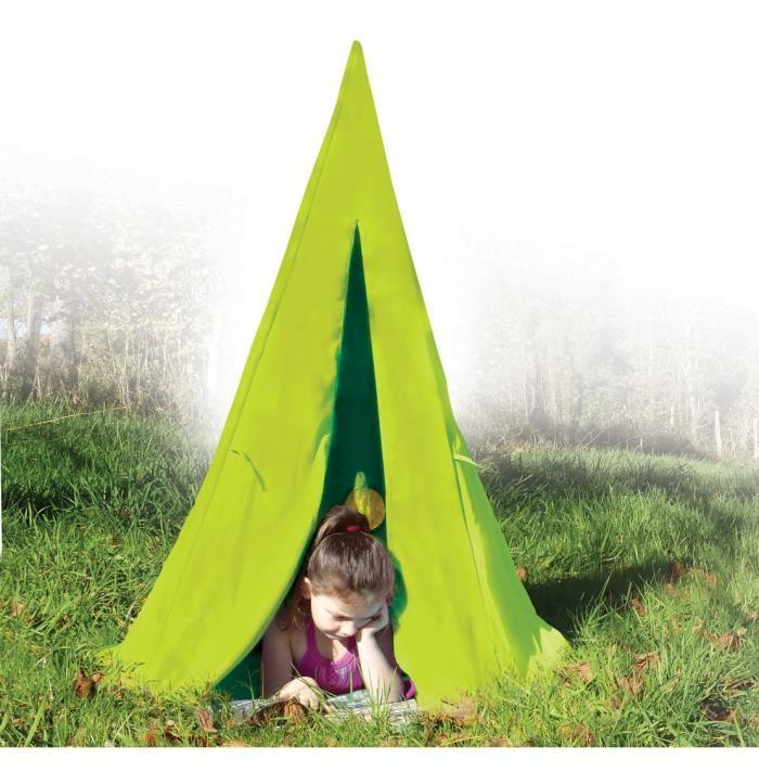 my note deco my note deco tente tipis vert anis pour enfant 257434. Black Bedroom Furniture Sets. Home Design Ideas