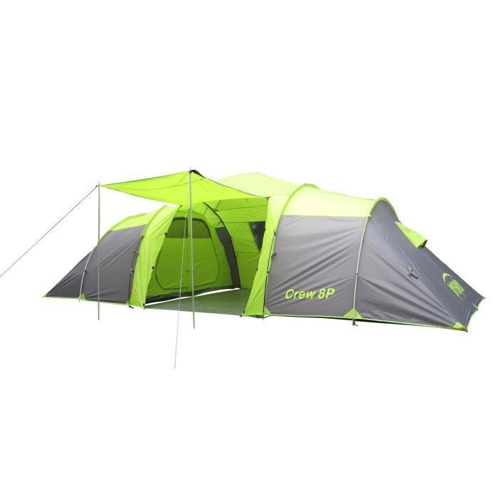 Prospector prospector tente camping crew 8 places 346458 - Tente 8 places pas cher ...