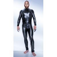 Tenues homme Noir Handmade - Combinaison Powerwetlook H043 - L