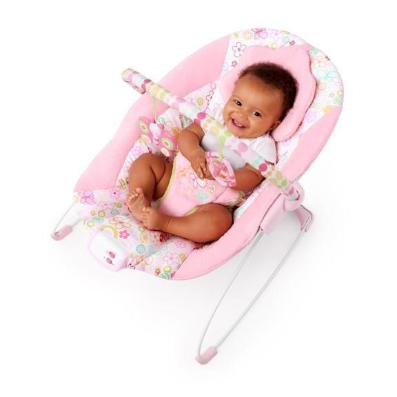 bright starts bright starts transat rose fille 267892. Black Bedroom Furniture Sets. Home Design Ideas