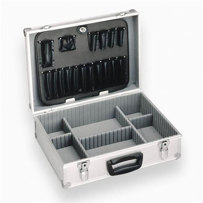 meister meister coffret a outils vide en aluminium 258712. Black Bedroom Furniture Sets. Home Design Ideas