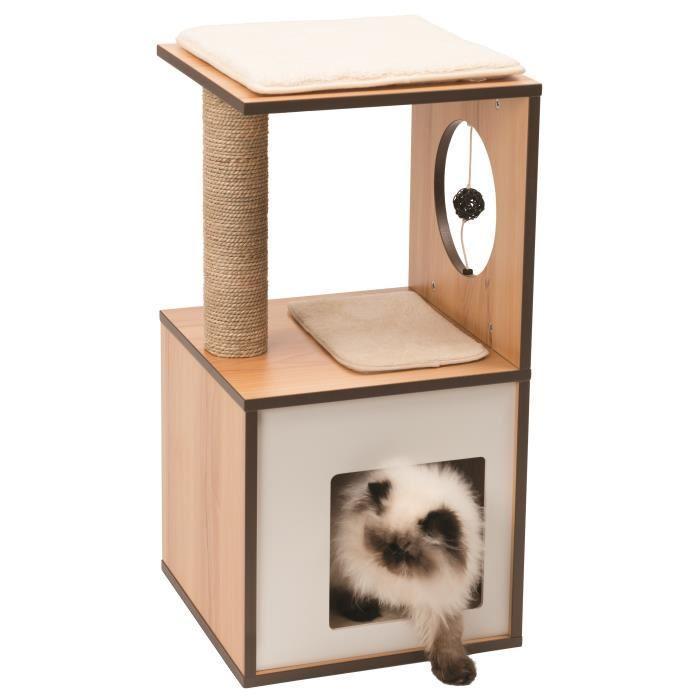 VESPER Arbre a chat Box S - Naturel 2