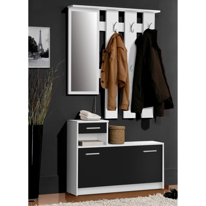 vestiaire meuble d entree. Black Bedroom Furniture Sets. Home Design Ideas