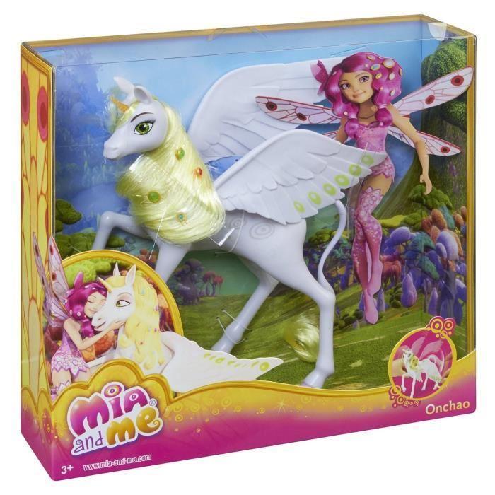 Mattel mia et moi licorne onchao 416461 - Mia et moi licorne ...