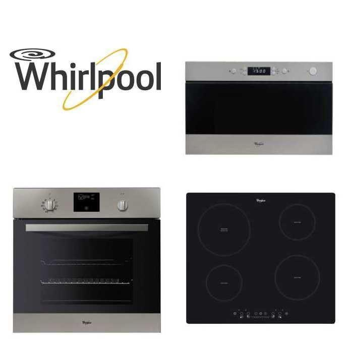 whirlpool pack whirlpool encastrable four micro ondes plaque 274019. Black Bedroom Furniture Sets. Home Design Ideas