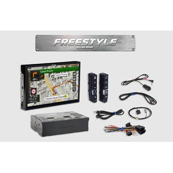 X902D-F Systeme navigation Freestyle ecran 9p Apple Carplay/ Android auto/ GPS/ TomTom