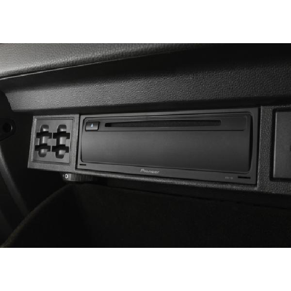 XDV-10 - Lecteur CD/DVD dissimule avec fonction Double zone